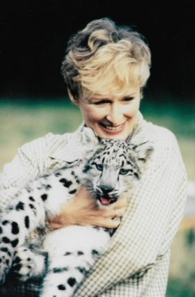 Glen Close with baby Jetta
